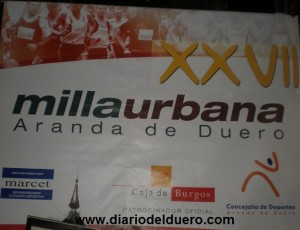 Cartel Milla de Aranda 2009