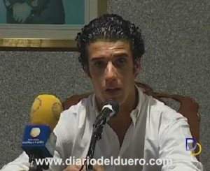 Morenito de Aranda en rueda de prensa