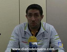 Chefe, entrenador del Balonmano Aranda Vemsa.