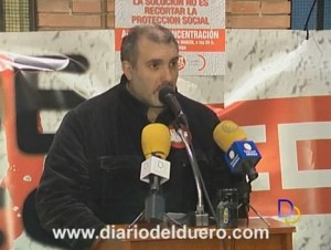 Modesto Rioseras Manifestación UGT