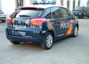 Coche Policia Nacional