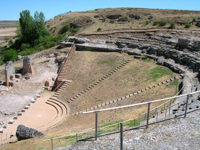 teatro romano clunia