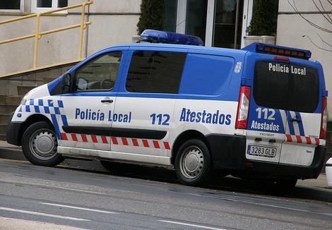 coche policia local