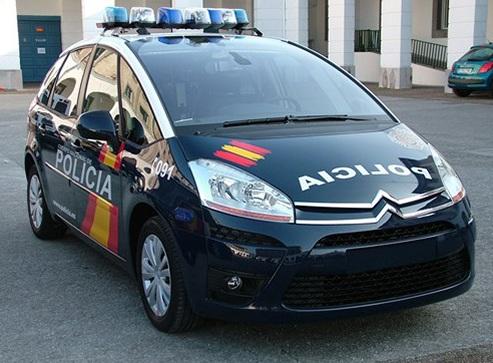 policia nacional coche