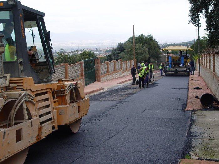asfaltado asfalto calle