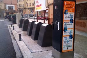 contenedores basura soterrados