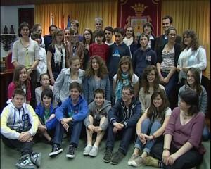 alumnos franceses ayuntamiento