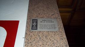 placa franquista
