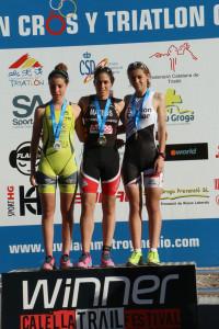triatlon podium