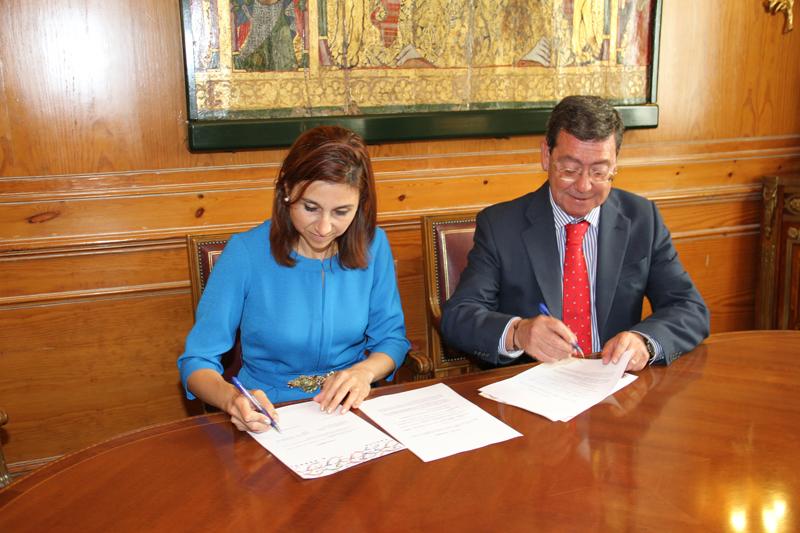 firma convenio vuelta