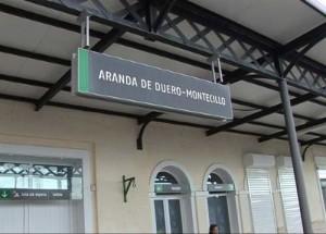 El Tren en Aranda